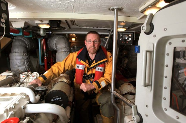 Andy Mathews, RNLI Sheerness