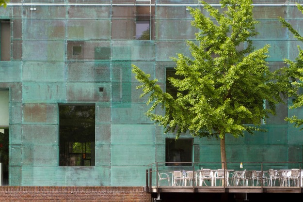Steven Holl Architects, SARPHATISTRAAT, Stadgenoot, Amsterdam Offices