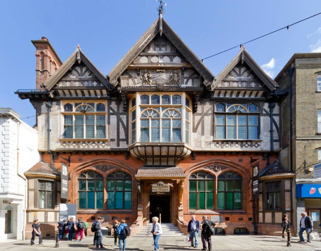 The New Beaney; Canterbury; Kent; Sidell Gibson Architects; Exhibition; public Library; Gallery