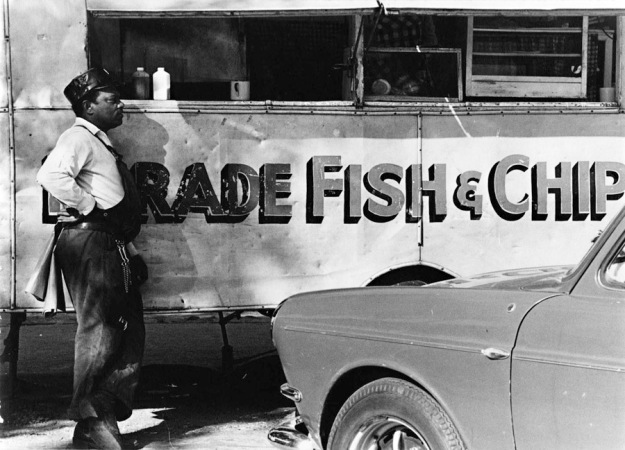 Fish & Chips van, The Parade, Cape Town, South Africa
