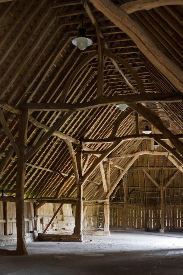 Littlebourne Barn, c1340, Kent, England