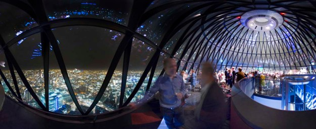 View from the top of London's Gherkin