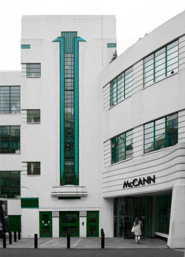 1931, Art Deco, Architecture, Wallis, Gilbert and Partners, Daimler Garage, Bloomsbury, London