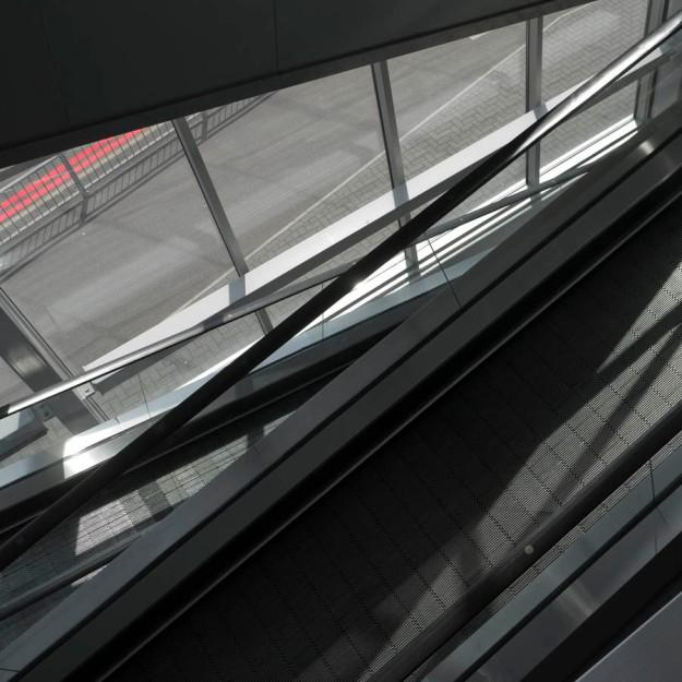 Escalator, London,