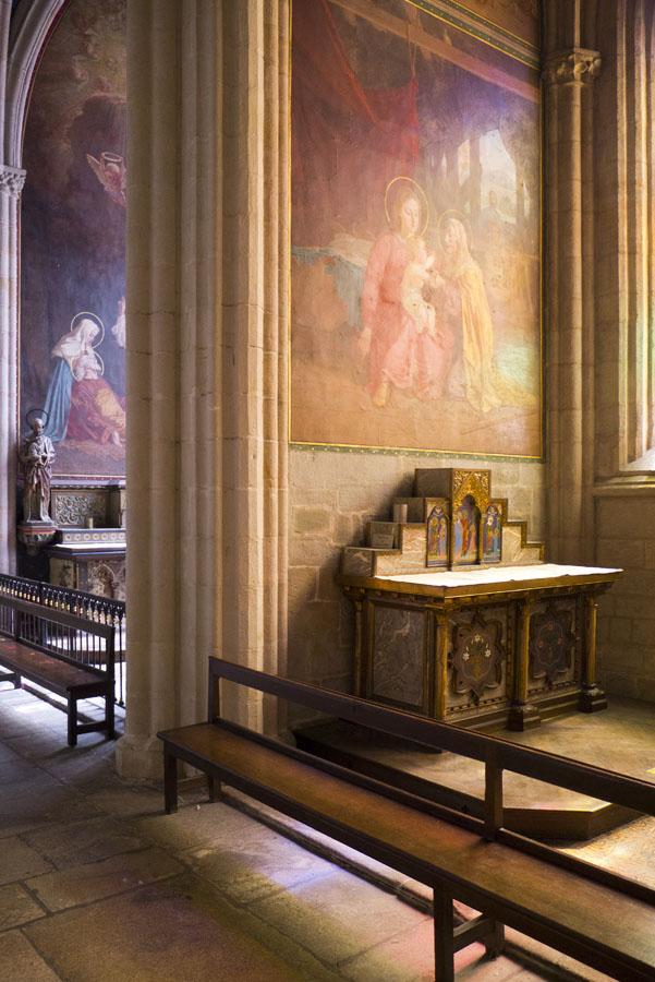 Chapel at Saint Coretin Cathedral, Quimper