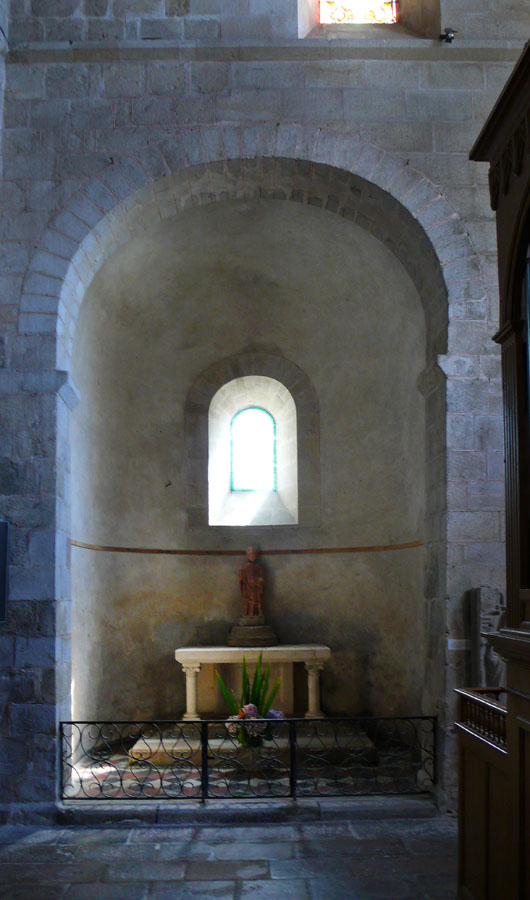 Side Chapel at the Church of Locmarie, near Quimper