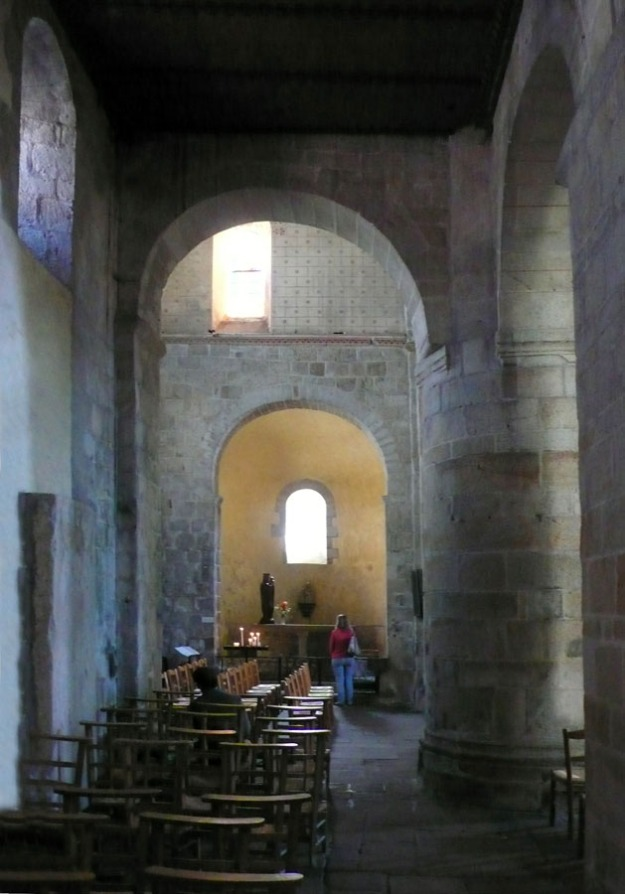 Side Aisle of the Church of Locmarie, near Quimper